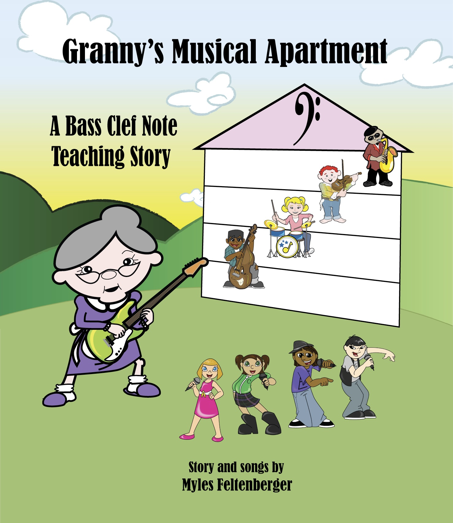 Granny's Musical Apartment Story Book